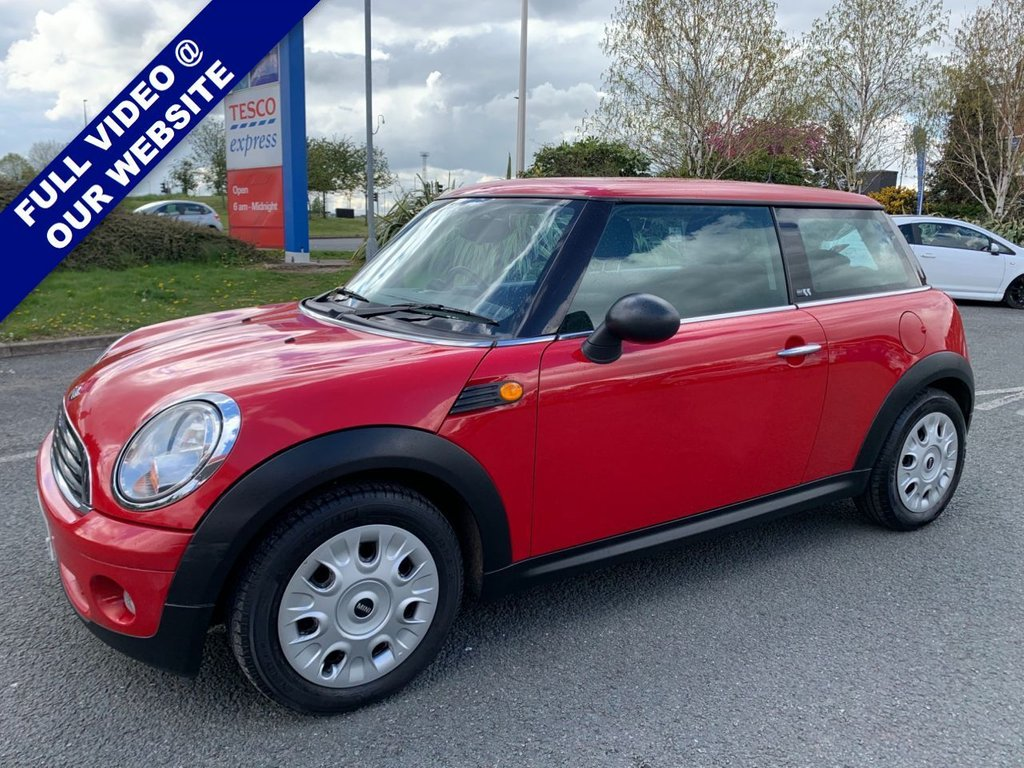 USED 2010 59 MINI HATCH FIRST 1.4 FIRST 3d 75 BHP