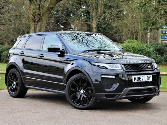 USED 2018 67 LAND ROVER RANGE ROVER EVOQUE 2.0 TD4 HSE DYNAMIC 5d 177 BHP £324 PCM With £2594 Deposit