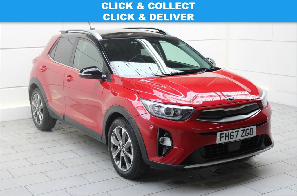 USED 2018 67 KIA STONIC 1.0 T-GDi First Edition (stop/start) 5dr