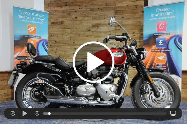 USED 2018 05 TRIUMPH SPEEDMASTER 1200cc BONNEVILLE SPEEDMASTER ABS - Low miles