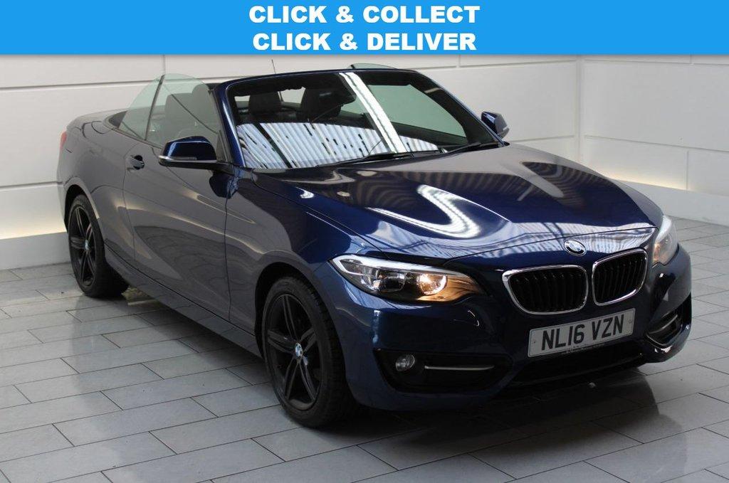 USED 2016 16 BMW 2 SERIES  1.5 218i Sport (stop/start) 2dr [NAV]