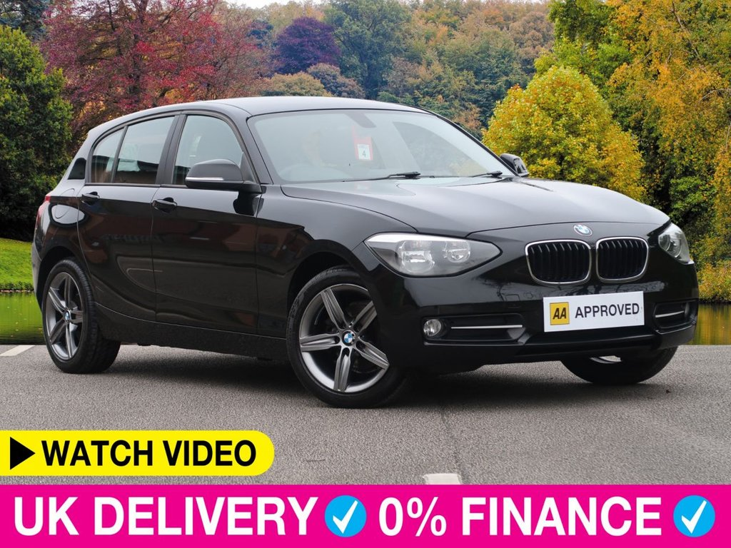 USED 2014 14 BMW 1 SERIES 116d Sport 2.0 5dr 1 Owner From New Air Con Alloys 1 Owner