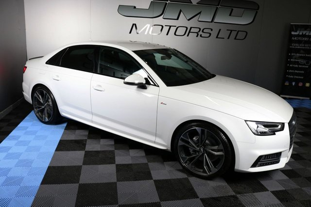 USED 2016 16 AUDI A4 2016 AUDI A4 2.0 TDI S LINE BLACK EDITION STYLE 188 BHP (FINANCE AND WARRANTY)