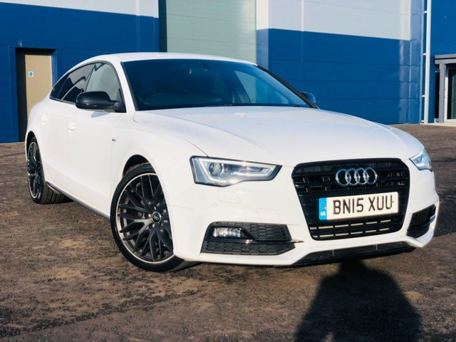 USED 2015 15 AUDI A5 2.0 SPORTBACK TDI BLACK EDITION PLUS 5d 175 BHP 6 MONTHS PREMIUM WARRANTY (PARTS and LABOUR) & BREAKDOWN COVER INCLUDED