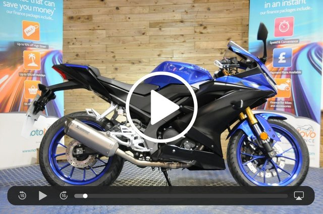 USED 2019 19 YAMAHA YZF-R125 YZF-R125 ABS - Low miles