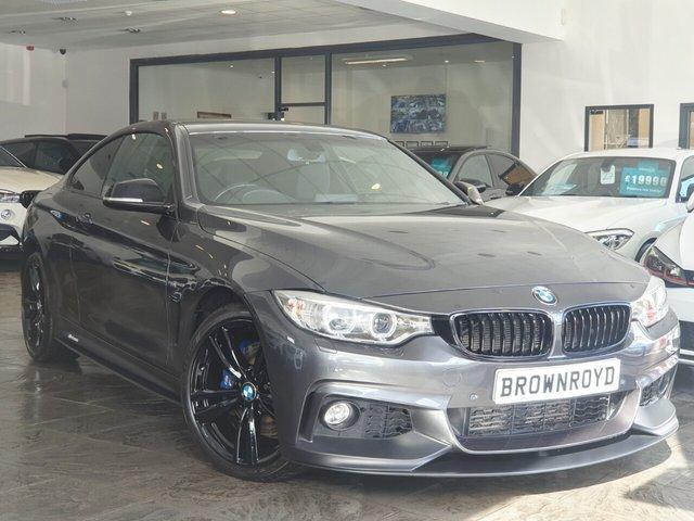 USED 2016 66 BMW 4 SERIES 2.0 420D XDRIVE M SPORT 2d 188 BHP BM PERFORMANCE STYLING+6.9%APR