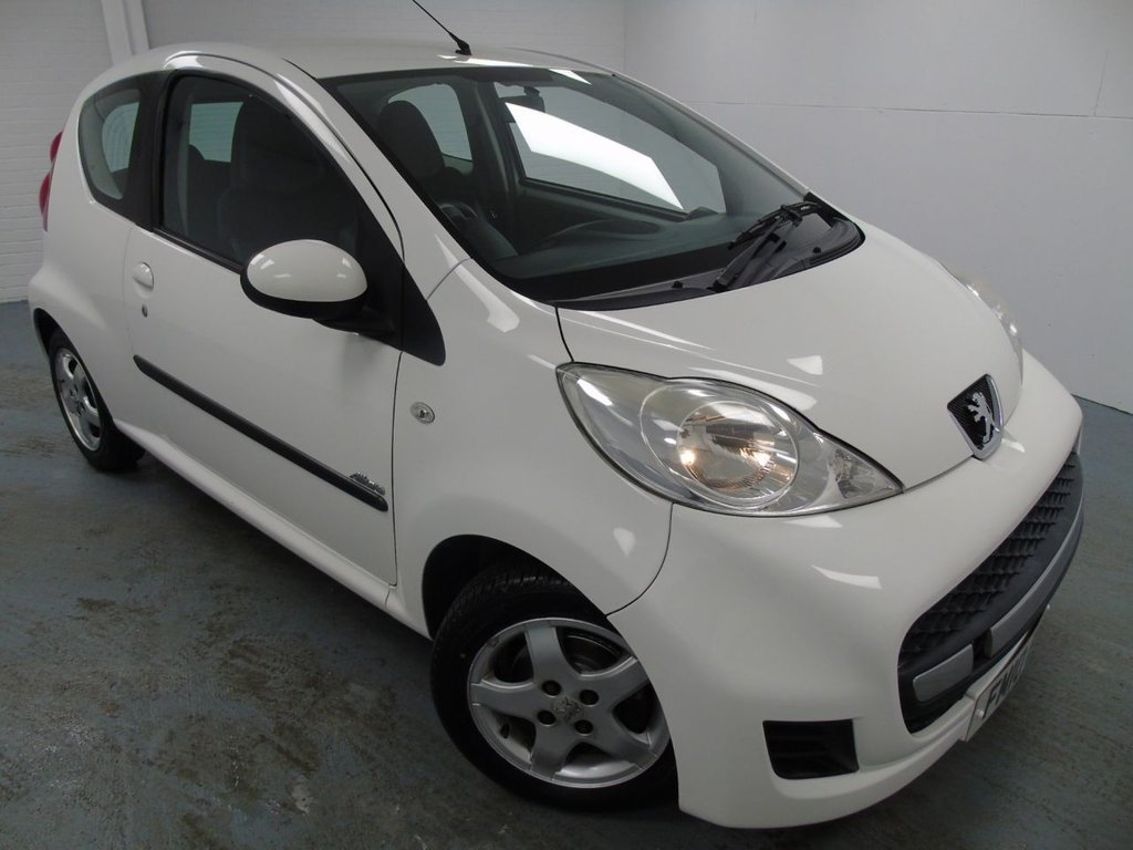 USED 2010 10 PEUGEOT 107 1.0 ALLURE 3d 68 BHP £58 a month, T&C's apply.