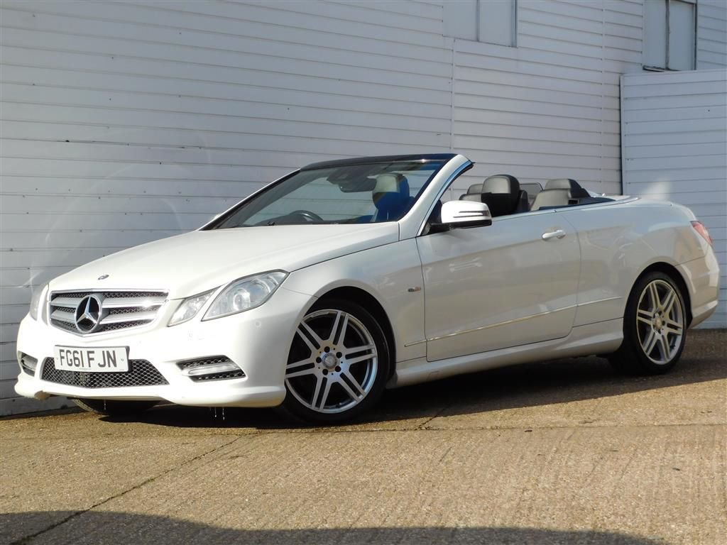 USED 2011 61 MERCEDES-BENZ E-CLASS 3.0 E350 CDI BLUEEFFICIENCY SPORT ED125 2d 265 BHP Buy Online Moneyback Guarantee