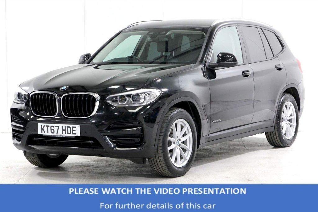 USED 2018 67 BMW X3 2.0 20d SE Auto xDrive (s/s) 5dr VAT Q*REAR CAM*F&R SENSORS