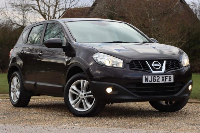 USED 2012 62 NISSAN QASHQAI 1.5 dCi Acenta 2WD 5dr LOW MILES 1yrs mot serviced.
