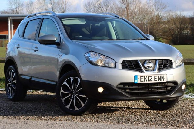 USED 2012 12 NISSAN QASHQAI 1.6 dCi n-tec+ 2WD (s/s) 5dr FULL SERVICE HISTORY