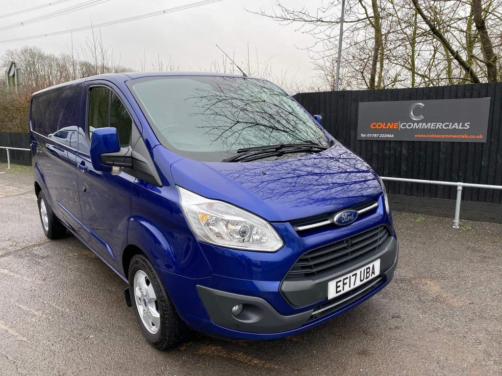 USED 2017 17 FORD TRANSIT CUSTOM 2.0 TDCi 290 Limited Auto L2 H1 5dr ***EURO 6**170PS**AUTOMATIC***