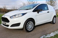 USED 2017 17 FORD FIESTA 1.5 BASE TDCI 74 BHP EURO 6 WARRANTY INCLUDED ONE OWNER FROM NEW FIESTA WHITE