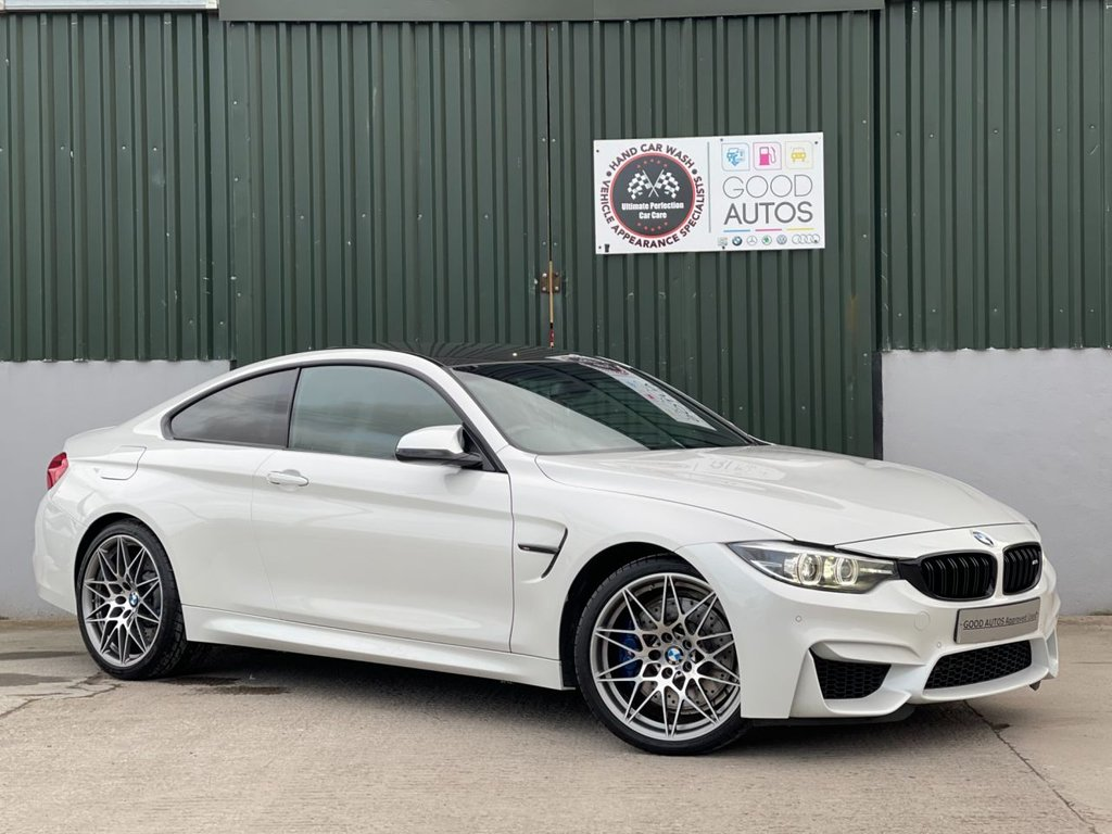 USED 2018 68 BMW M4 3.0 M4 COMPETITION 2d 444 BHP