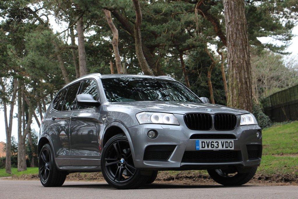 USED 2013 63 BMW X3 XDRIVE 30D M SPORT 258 BHP