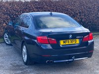USED 2011 11 BMW 5 SERIES 2.0 520D SE 4d 181 BHP * 12 MONTHS AA BREAKDOWN COVER * FULL LEATHER INTERIOR *