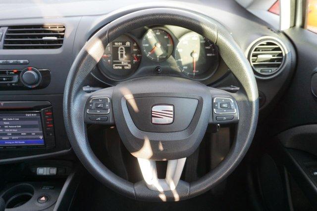 USED 2013 13 SEAT LEON 1.6 CR TDI ECOMOTIVE S AC 5d 103 BHP GREAT EXAMPLE & DRIVES SUPERB