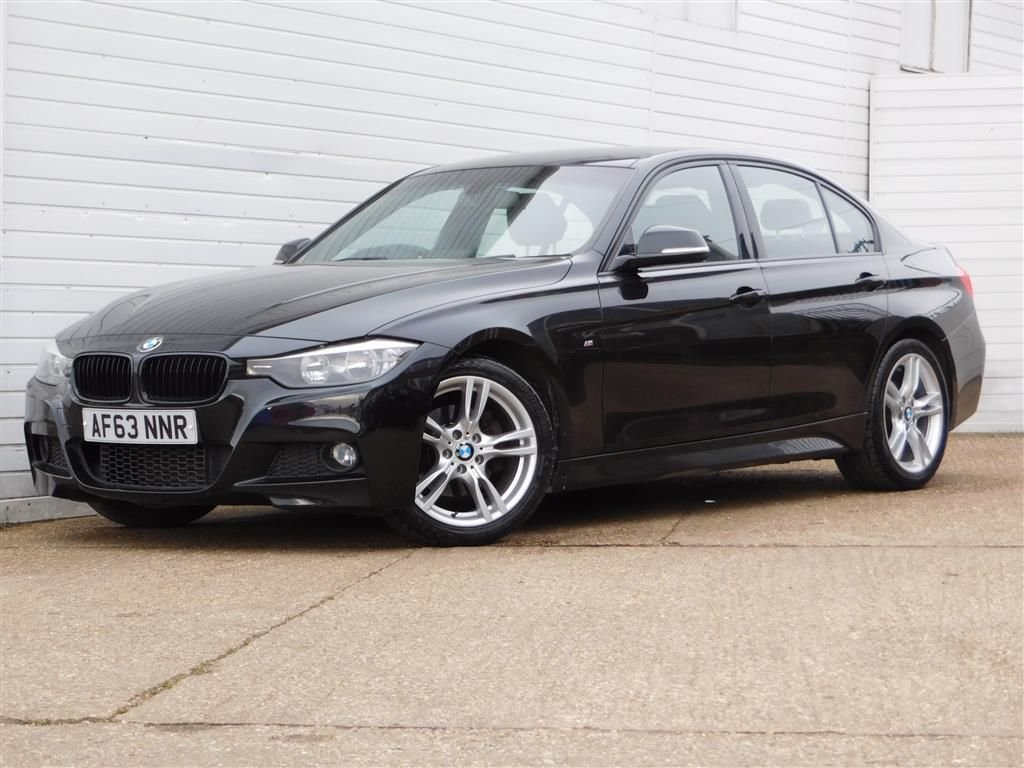 USED 2013 63 BMW 3 SERIES 2.0 320D M SPORT 4d 181 BHP Buy Online Moneyback Guarantee