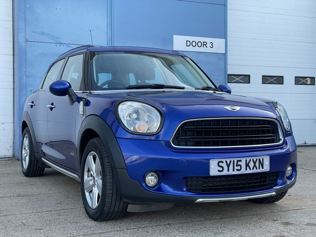 USED 2015 15 MINI COUNTRYMAN 2.0 COOPER D ALL4 5d 110 BHP