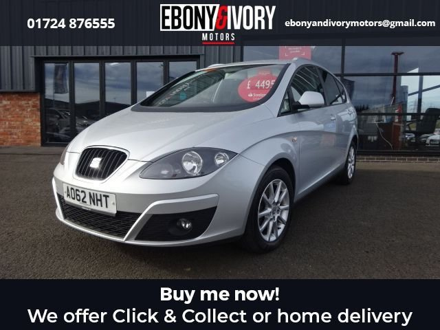 USED 2013 62 SEAT ALTEA XL 1.6 CR TDI ECOMOTIVE SE 5d 103 BHP + FULL SERVICE HISTORY + 1 YEAR MOT AND BREAKDOWN COVER