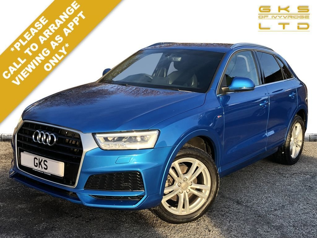 USED 2017 17 AUDI Q3 1.4 TFSI S LINE EDITION 5d 148 BHP ** NATIONWIDE DELIVERY AVAILABLE **