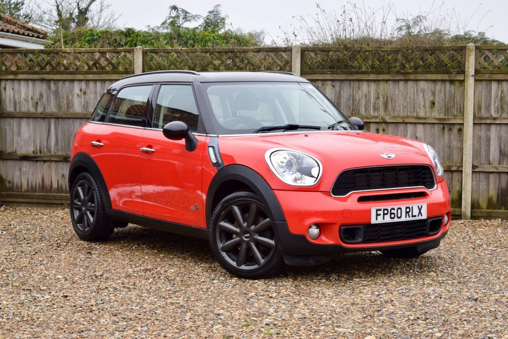 USED 2010 60 MINI COUNTRYMAN 1.6 COOPER S ALL4 5d 184 BHP Free 12  month warranty