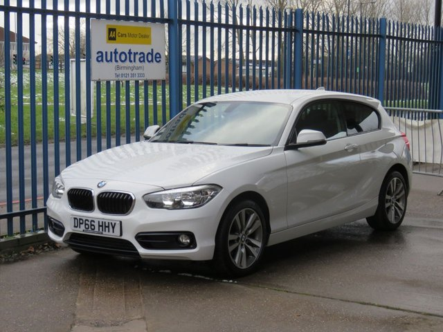 USED 2016 66 BMW 1 SERIES 1.5 116D SPORT 3d 114 BHP SatNav,Rear Parking sensors and Rear Privacy Glass