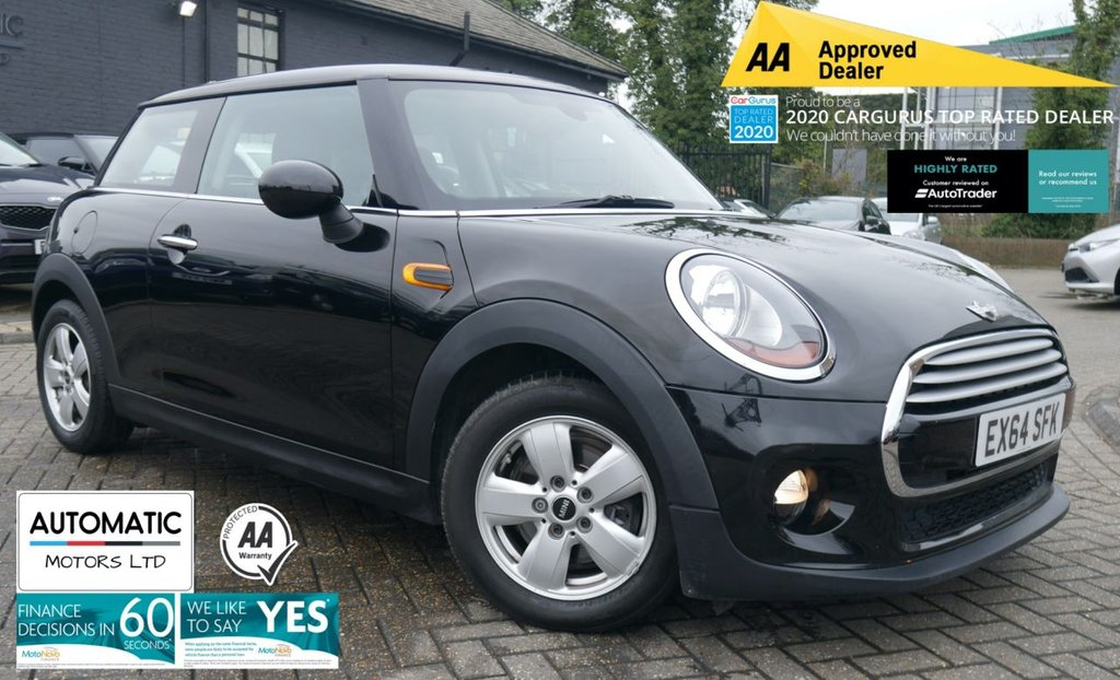 USED 2014 64 MINI HATCH COOPER 1.5 COOPER 3d 134 BHP 2014 MINI HATCH COOPER 1.5 COOPER 3d 134 BHP ULEZ BLUETOOTH FINANCE ME