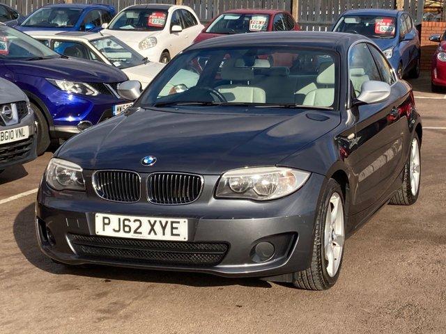 2013 62 BMW 1 SERIES 2.0 118D EXCLUSIVE EDITION 2d 141 BHP