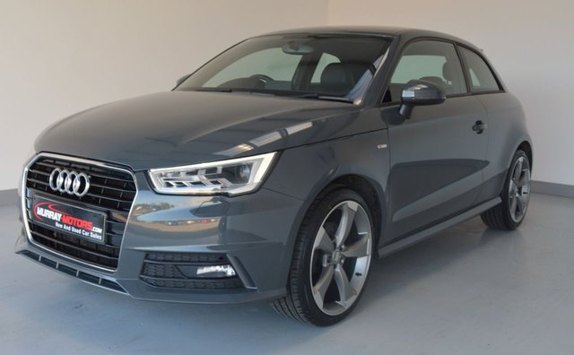 USED 2018 AUDI A1 1.6 TDI S LINE NAV 3 Door Hatchback *Nano Grey*
