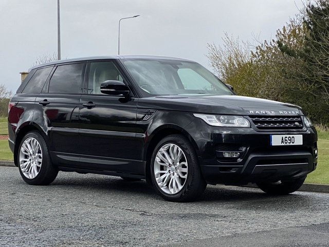 USED 2015 S LAND ROVER RANGE ROVER SPORT 3.0 SDV6 HSE DYNAMIC 5d 306 BHP 4WD AUTO Two Tone Panoramic