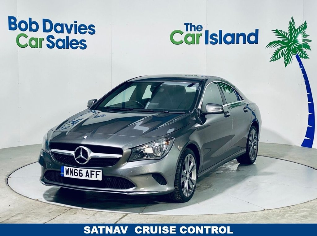 USED 2016 66 MERCEDES-BENZ CLA 2.1 CLA 200 D SPORT 4d 134 BHP Park Assist, Privacy Glass Upgrade Alloys 58000 miles