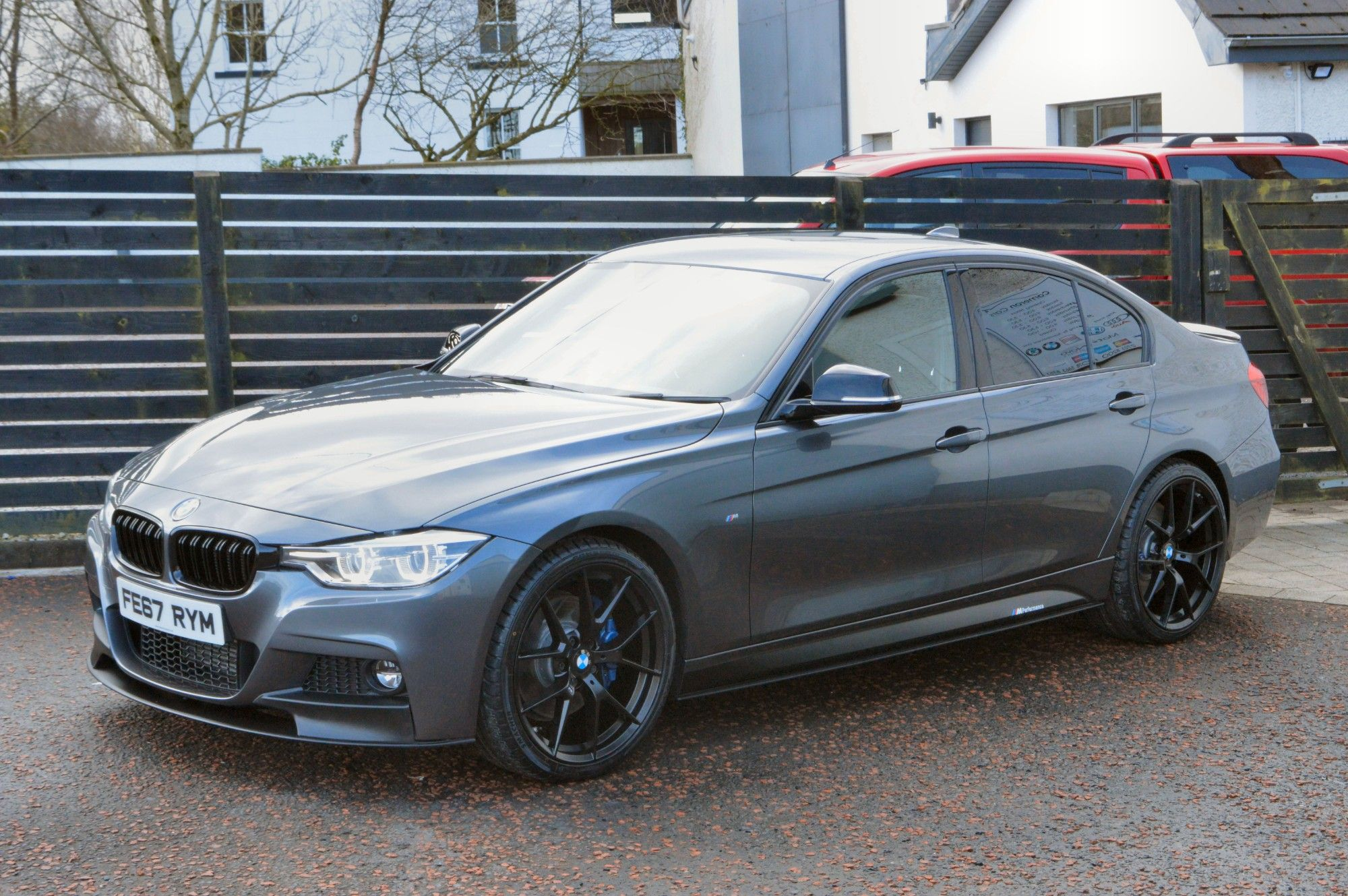 USED 2017 67 BMW 3 SERIES 2.0 320D M SPORT 4d 188 BHP 6 MONTHS RAC WARRANTY FREE + 12 MONTHS ROAD SIDE RECOVERY!