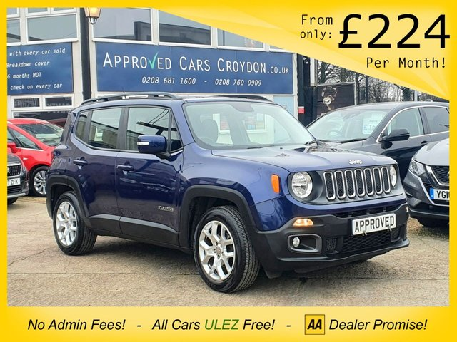 USED 2018 67 JEEP RENEGADE 1.4 LONGITUDE 5d 138 BHP
