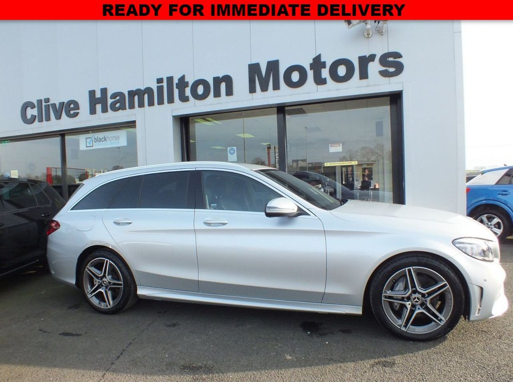 USED 2020 69 MERCEDES-BENZ C-CLASS 2.0 C 220 D AMG LINE EDITION 5d 192 BHP