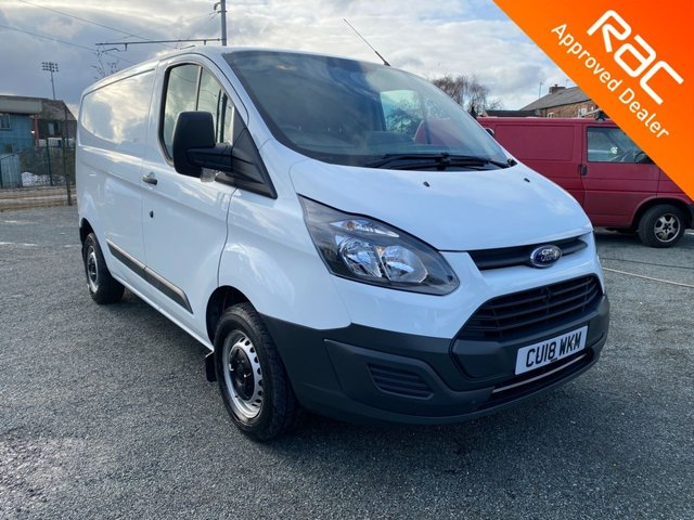 USED 2018 18 FORD TRANSIT CUSTOM 2.0 290 LR P/V 104 BHP 2018 FORD TRANSIT CUSTOM EURO 6