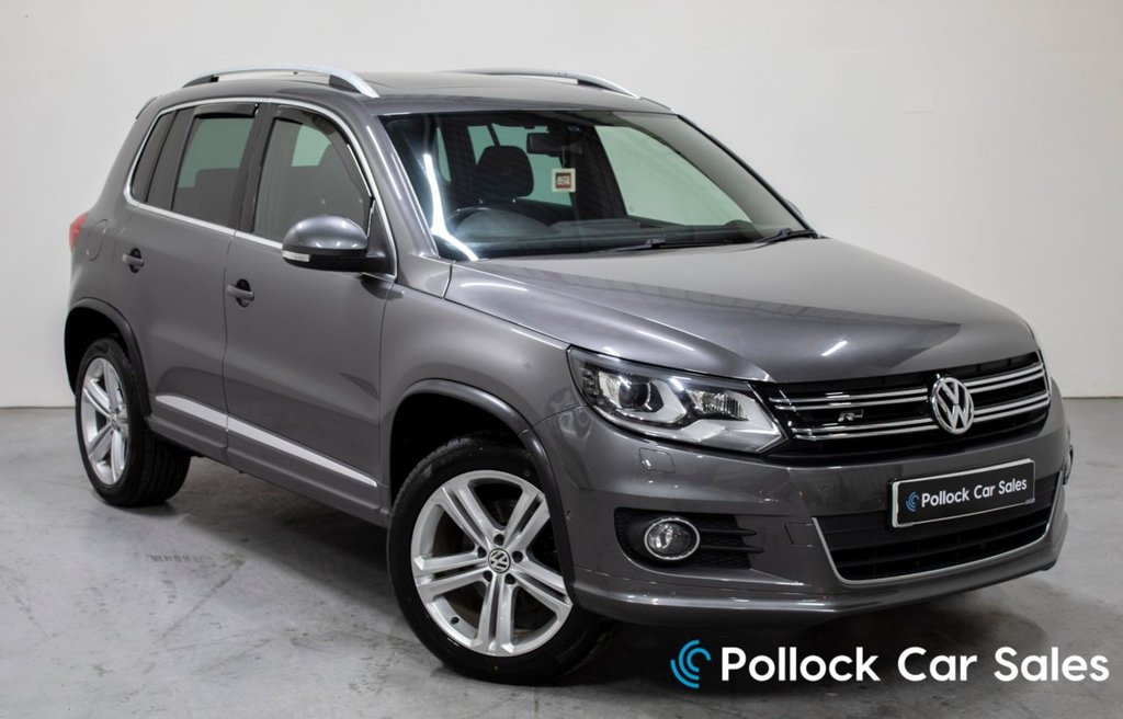 USED 2013 VOLKSWAGEN TIGUAN 2.0 R LINE TDI BLUEMOTION TECHNOLOGY 4MOTION 5d 139 BHP £2240 Factory Fitted Extras, Pan Roof, Htd Seats, RCD 510