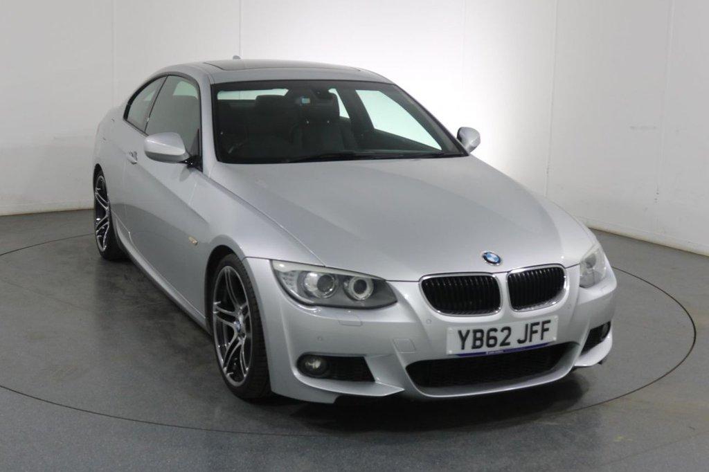 USED 2013 62 BMW 3 SERIES 2.0 320D M SPORT 2d 181 BHP SERVICE HISTORY
