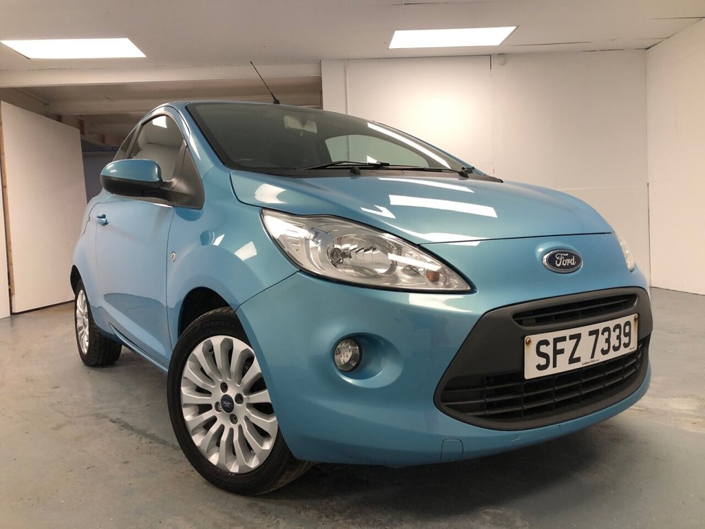 USED 2014 FORD KA 1.2 ZETEC 3d 69 BHP £92 per month, T&C's apply.