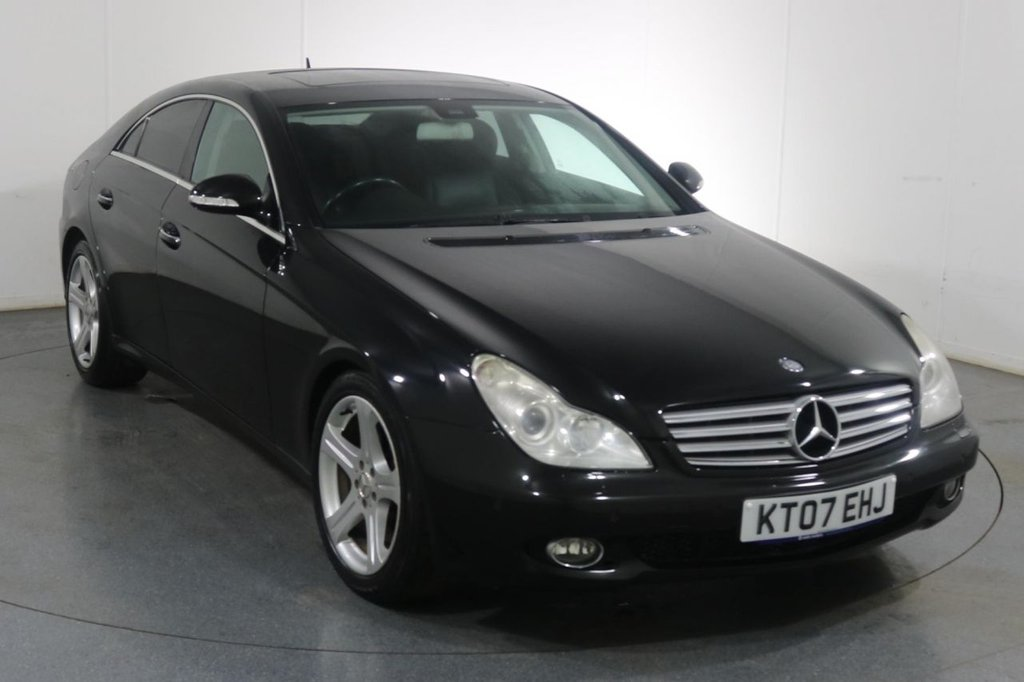 USED 2007 07 MERCEDES-BENZ CLS CLASS 3.0 CLS320 CDI 4d 222 BHP 8 Stamp SERVICE HISTORY