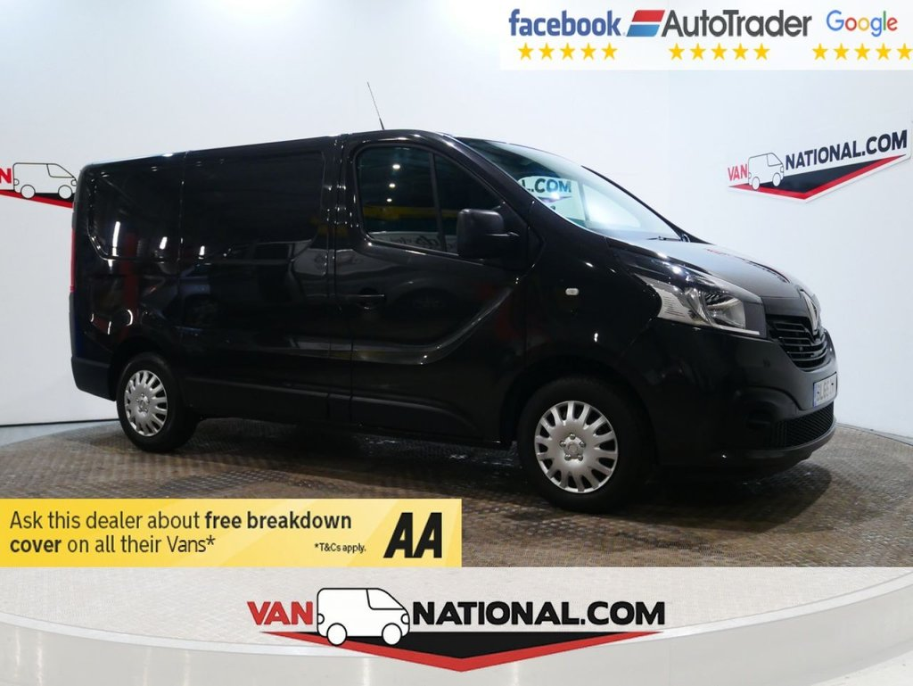 USED 2015 65 RENAULT TRAFIC 1.6 SL27 BUSINESS PLUS ENERGY DCI 120 BHP *AIR CON* * ONE OWNER * AIR CON * BLUETOOTH * ZERO DEPOSIT FINANCE AVAILABLE *