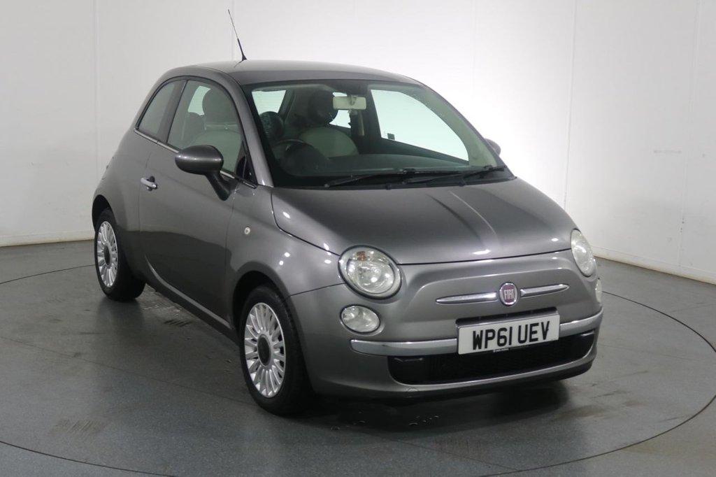 USED 2012 61 FIAT 500 0.9 LOUNGE 3d 85 BHP FULL HISTORY I BLUETOOTH I £0 ROAD TAX