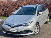 USED 2017 67 TOYOTA AURIS 1.3 VVT-I ACTIVE TOURING SPORTS 5d 98 BHP * ONLY 1,836 MILES * 12 MONTHS FREE AA MEMBERSHIP *