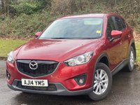 USED 2014 14 MAZDA CX-5 2.2 D SE-L LUX NAV 5d 148 BHP * 1 OWNER * BUILT IN BLUETOOTH HANDSFREE * TOUCH SCREEN DIGITAL INTERFACE *