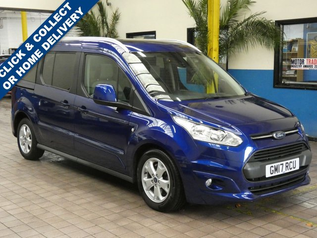 2017 17 FORD GRAND TOURNEO CONNECT 1.5 TITANIUM TDCI 5d 118 BHP