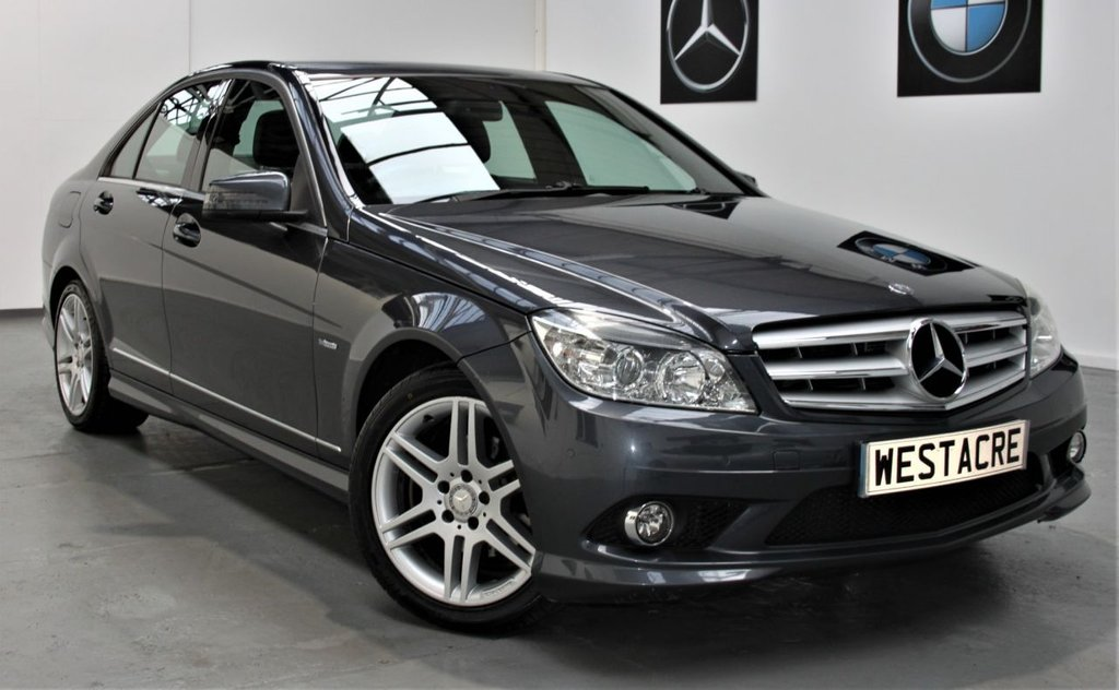 USED 2010 51 MERCEDES-BENZ C-CLASS 2.1 C220 CDI BLUEEFFICIENCY SPORT 4d 170 BHP
