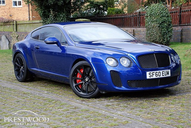2011 60 BENTLEY CONTINENTAL 6.0 W12 GT SUPERSPORTS AWD [621 BHP] COUPE AUTO