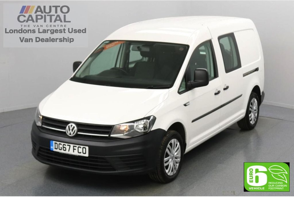 USED 2017 67 VOLKSWAGEN CADDY MAXI 2.0 C20 TDI 101 BHP 5 Seats Combi Euro 6 Low Emission Finance Available Online | 5 Seats | Auto Start-Stop