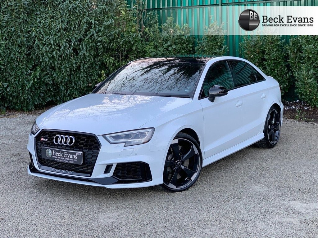 USED 2019 69 AUDI RS3 SALOON 2.5 RS 3 TFSI QUATTRO AUDI SPORT EDITION 4d 395 BHP SPORT EDITION