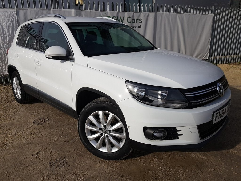 USED 2015 64 VOLKSWAGEN TIGUAN 2.0 MATCH TDI BLUEMOTION TECHNOLOGY 4MOTION 5d 139 BHP